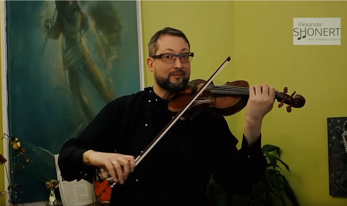 Special Violin Exercises for Mastering Firm Staccato Up and Down